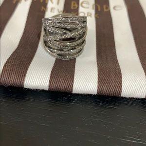 Henri Bendel Pave Crystal Ring